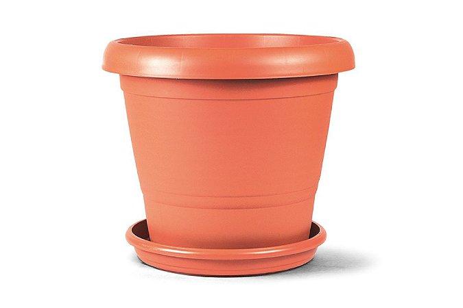 Vaso de Polipropileno Marrom- N03 - 40x30cm