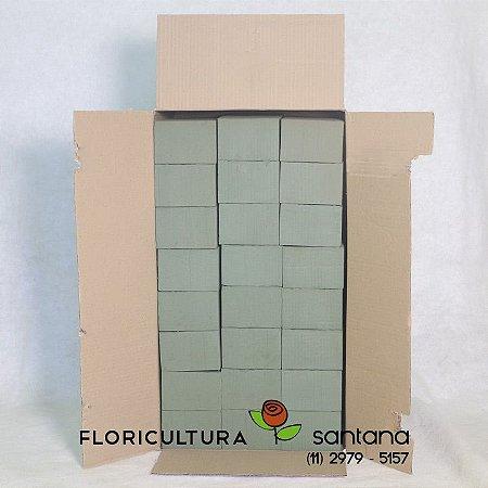 Espuma Floral 23x7,5x10cm caixa 24uni