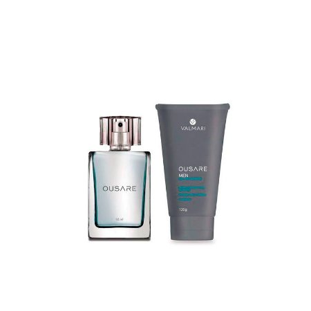 Kit Ousare Men - Desodorante Colônia+Gel para Barbear - Valmari