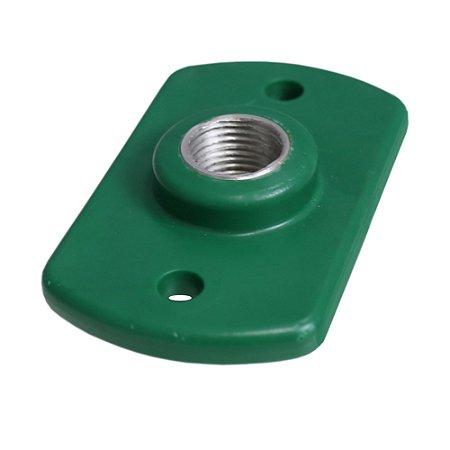 02025 Conector Reto Rosca de Alumínio 1/2 (10 unidades)