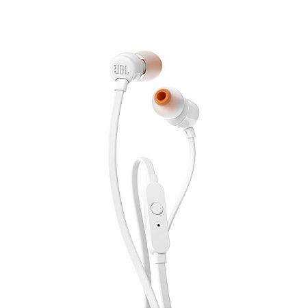 Fone De Ouvido In Ear JBL T110 Branco