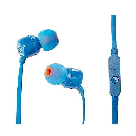 Fone De Ouvido In Ear JBL T110 Azul