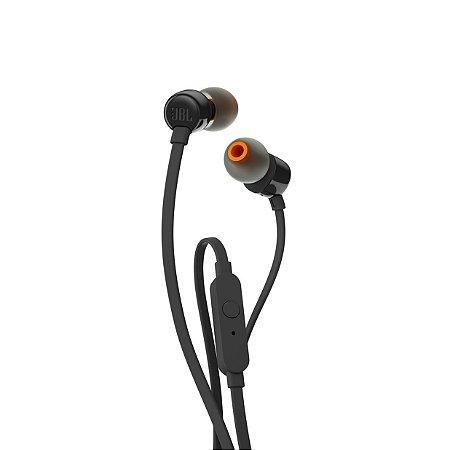 Fone De Ouvido In Ear JBL T110 Preto
