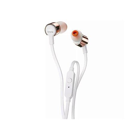 Fone De Ouvido In Ear JBL T210 Rosa