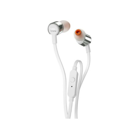 Fone De Ouvido In Ear JBL T210 Prata