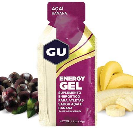 Gu Energy Gel - Caixa C/ 24 Sachês - Energético Em Gel Gu