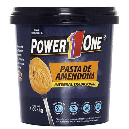 Pasta de Amendoim Integral Normal Power One 1 Kg