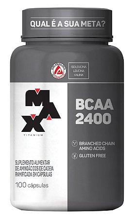 BCAA 2400 Max Titanium 100 Capsulas