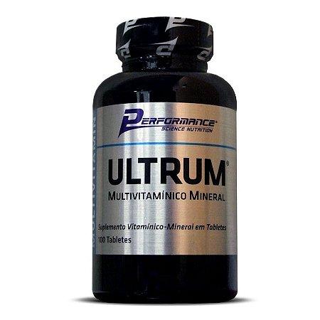 Multivitaminico Ultrum 100 Tabletes Performance Nutrition