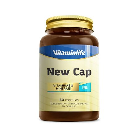 New Cap Hair 60 Capsulas Vitamin Life