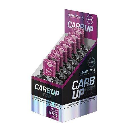 Carb Up Gel Black Caixa 10 Saches Sabor Guaraná com Açai
