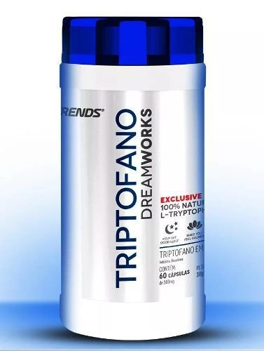Triptofano Dreamworks L-Tryptophan 190 Mg60 Capsulas