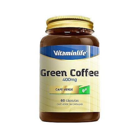 Green Coffee 400 Mg VitaminLife 60 Capsulas