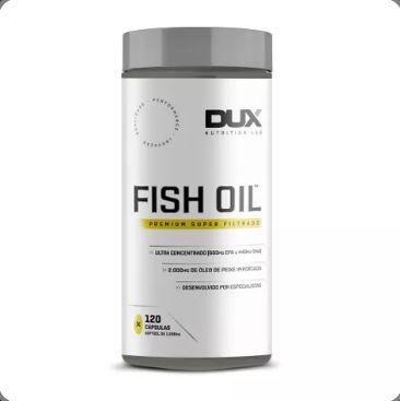 Fish Oil Omega 3 DUX Nutrition Lab 120 Softgels