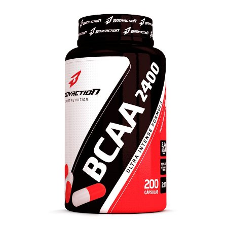 BCAA 2400 Bodyaction 100 Caps