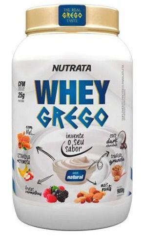 Whey Grego Nutrata 900 Gr