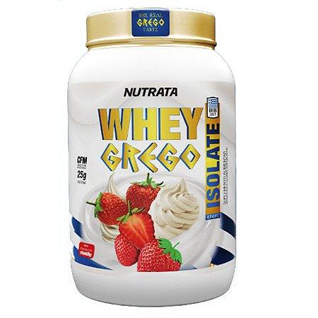 Whey Grego Isolate Nutrata 900 Gr