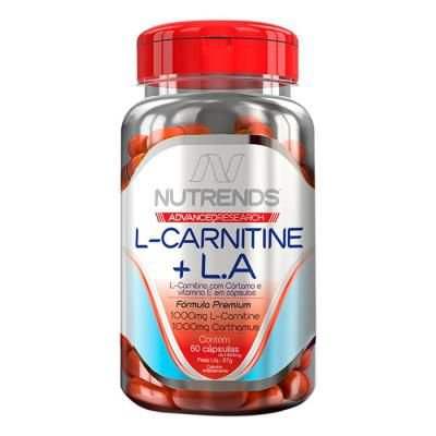L - Carnitine + L.A 60 Capsulas Nutrends