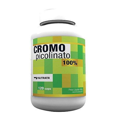 Cromo Picolinate 120 Capsulas Nutrata