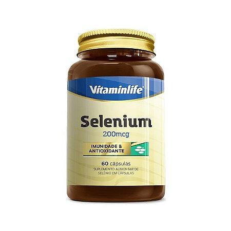 Selenium 200 Mcg 60 Capsulas VitaminLife