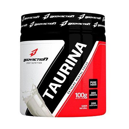 Taurina Extreme Metal Focus 100 Gr Sem Sabor Bodyaction