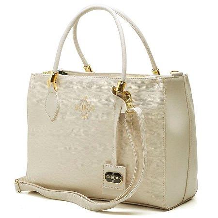 Bolsa Quadrada Diane Gonçalves Bege - Hendy bag eda74b0ceb6