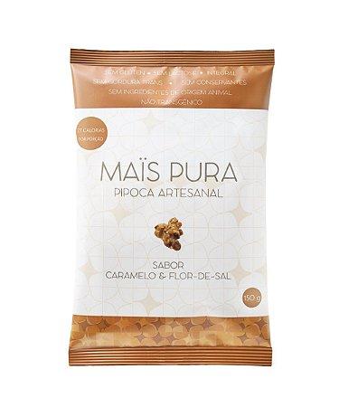 Pipoca Artesanal - Caramelo e Flor-de-Sal - 150gr