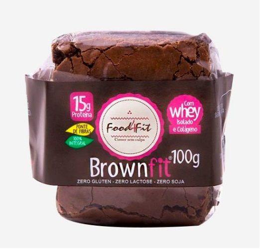 Brownfit com Chocolate Belga 70% - 100gr
