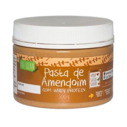 Pasta de Amendoim com Whey Protein - 300gr