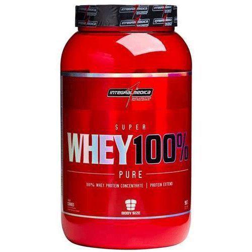Super Whey 100% Pure - Morango - 907gr