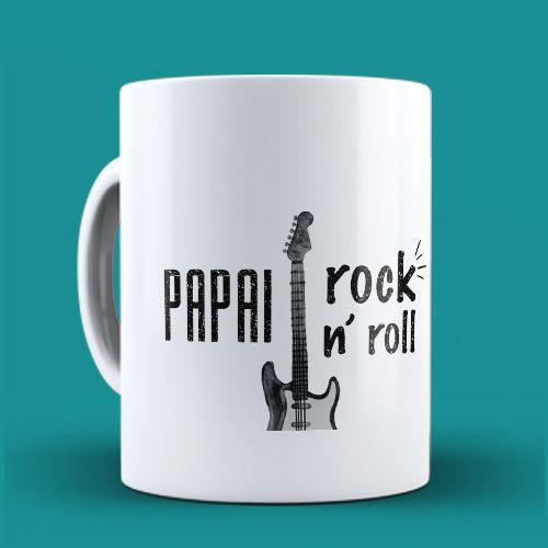 Caneca Pai Rock n' Roll