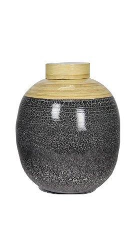 Vaso Bamboo Laqueado Usuki