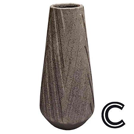 Vaso de Cerâmica Marrom Pequeno