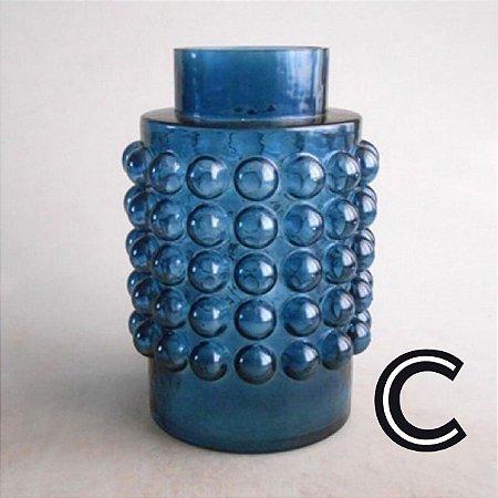 Vaso Garrafa Gomilado Azul