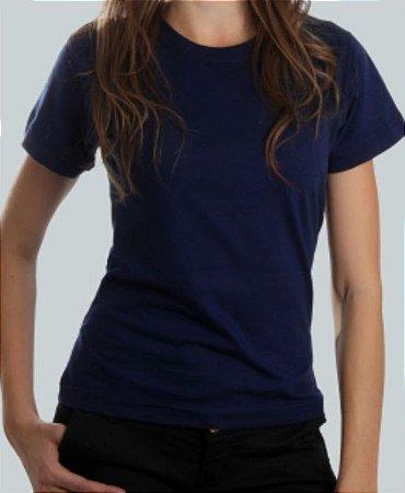 Camiseta Baby Look Cinza Mescla CB4737