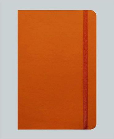 Caderneta Laranja tipo Moleskine MK5050