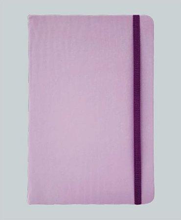 Caderneta Lilás tipo Moleskine MK7070