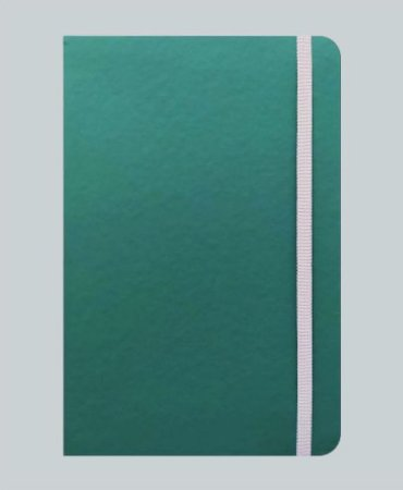 Caderneta Verde tipo Moleskine MK4040