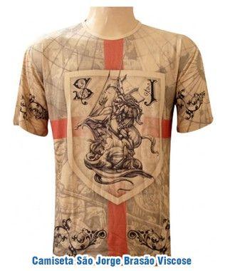 Camisetas São Jorge Viscose