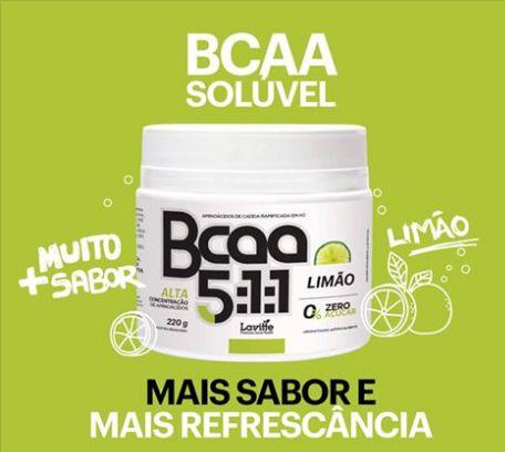BCAA 5.1.1  Pó Abacaxi com Hortela 220gramas