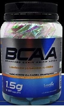 BCAA Ultra Concentrated 1.5g  - com 120 tablets