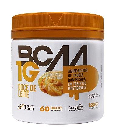 BCAA 1G - sabor Doce de Leite com 60 tabletes