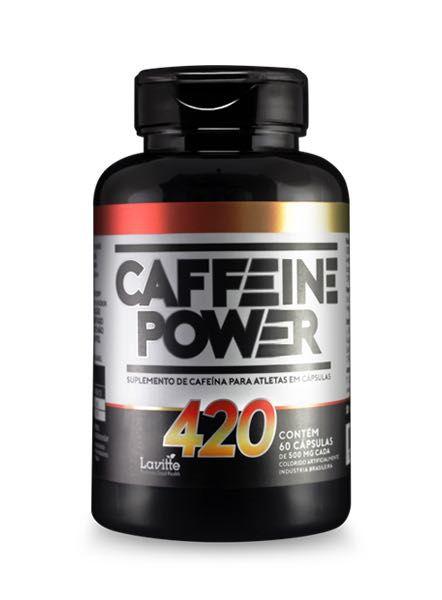 Caffeine Power 420 - 60 capsulas