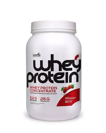 Whey Protein Concentrado - sabor Morango -920g