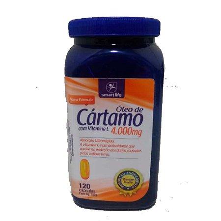 OLEO DE CARTAMO COM VITAMINA E 4000MG