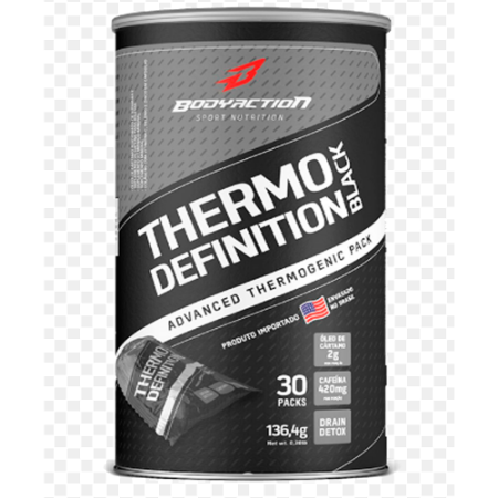 THERMO DEFINITION BLACK 30PACKS BODYACTION