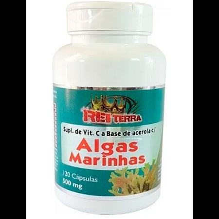 ALGAS MARINHAS 500MG 120CAPS REI TERRA