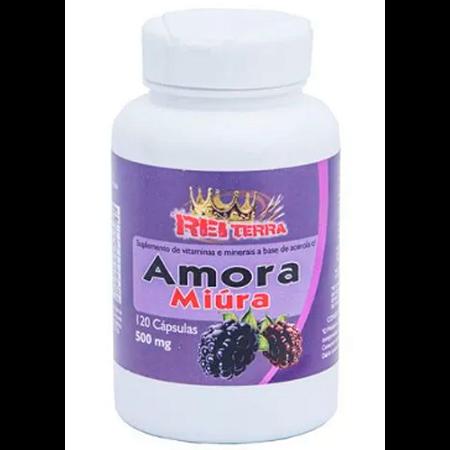 AMORA MIURA 500MG 120CAPS REI TERRA