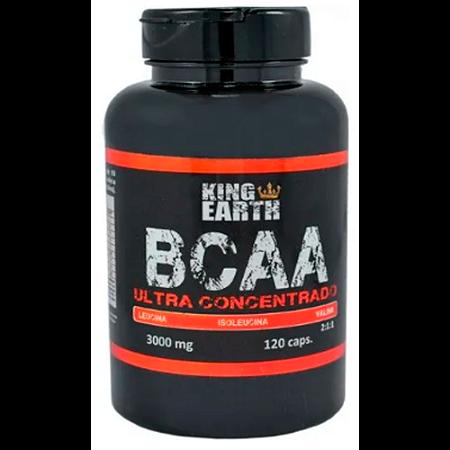 BCAA ULTRA CONCENTRADO 750MG 120CAPS REI TERRA