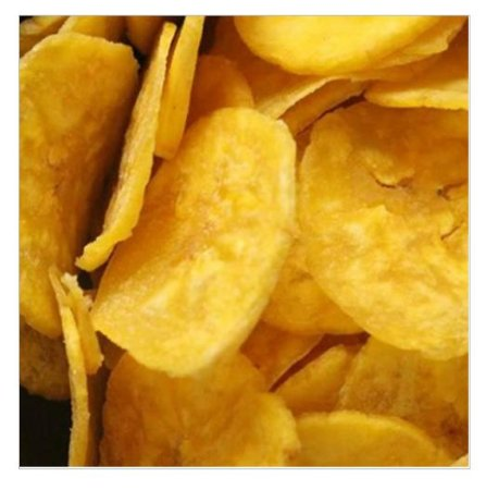 BANANA CHIPS SALGADA - 100g